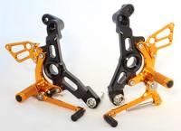 Sato Racing - Sato Racing Adjustable Billet Rearsets: Ducati Supersport 17+ - Image 5