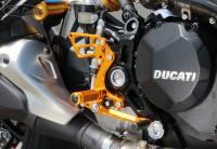Sato Racing - Sato Racing Adjustable Billet Rearsets: Ducati Monster 1200/1200S 16+ - Image 3