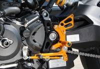 Sato Racing - Sato Racing Adjustable Billet Rearsets: Ducati Monster 1200/1200S 16+ - Image 4