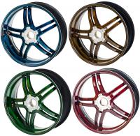 BST Wheels - BST RAPID TEK Carbon Fiber 5 SPLIT SPOKE WHEEL SET: Ducati Diavel / X Diavel - Image 17