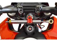 Suspension & Chassis - Steering Dampers - Ducabike - Ducabike Ohlins Steering Damper Complete Kit: Ducati Hypermotard 950/SP