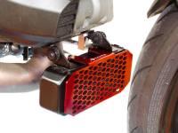 Ducabike - Ducabike Oil Cooler Guard: Ducati HyperMotard 939/950, HyperStrada 939[Laser cut light alloy] - Image 6