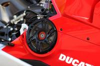 Clutch - Clutch Parts - Desmoworld - Desmoworld Exclusive Billet Clutch Cover: Ducati Panigale V4 R.[Six Spoke]