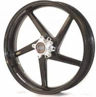 BST Wheels - BST Diamond TEK Carbon Fiber 5 Spoke Front Wheel: Ducati Panigale 899-959