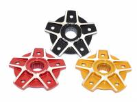 Drive Train - Sprocket Hub Covers - Ducabike - Ducabike Billet Sprocket Hub Cover With Contrast: [5Hole ]