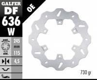 Galfer - Galfer Rear Brake Rotor: Ducati Monster 620-695-696-800-750-900-S4, SS 620-750-800-900-1000, ST, 851-888, GT1000, Sport Classic - Image 2