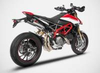 "Zard - ZARD ""Top Gun"" Stainless Steel Racing Slip-Ons: Ducati Hypermotard 950/SP - Image 2"