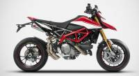 "Zard - ZARD ""Top Gun"" Stainless Steel Racing Slip-Ons: Ducati Hypermotard 950/SP - Image 3"