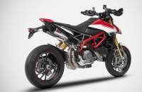 "Zard - ZARD ""GT"" Stainless Steel Racing Slip-Ons: Ducati Hypermotard 950/SP - Image 2"