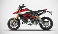 "Zard - ZARD ""GT"" Stainless Steel Racing Slip-Ons: Ducati Hypermotard 950/SP - Image 3"