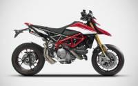 "Zard - ZARD ""GT"" Stainless Steel Racing Slip-Ons: Ducati Hypermotard 950/SP - Image 4"