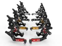 Ducabike - Ducabike Adjustable Billet Rearsets: Ducati Hypermotard 950 / 950 SP