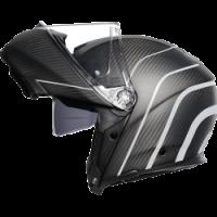 Helmets & Accessories - Helmets - AGV - AGV SPORT MODULAR CARBON - REFRACTIVE