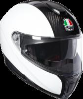 Helmets & Accessories - Helmets - AGV - AGV SPORT MODULAR WHITE CARBON