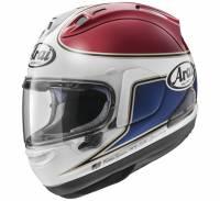 Helmets & Accessories - Helmets - Arai - Arai Corsair-X Spencer 40th Helmet [Red or Silver]