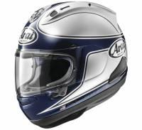 Apparel & Gear - Helmets & Accessories - Arai - Arai Corsair-X Spencer 40th Helmet [Red or Silver]