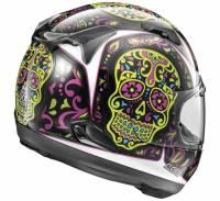 Arai - Arai Signet-X El Craneo Helmet [Blue Frost or Pink] - Image 4