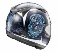 Arai - Arai Signet-X El Craneo Helmet [Blue Frost or Pink] - Image 3
