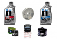 Tools, Stands, Supplies, & Fluids - Mobil 1 - Mobil 1 Oil Change Kit with Filter: Most Ducati