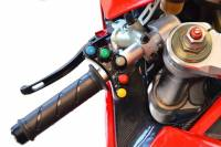 "Ducabike - Ducabike Billet ""Road "" Left  Switch Housing Panel With Integrated ""7"" Push-Buttons [Ducati 1098/1198/848-848 EVO, Desmosedici]"