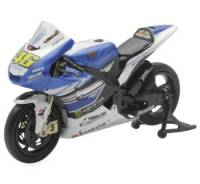 Stickers, Patches, & Toys - Toys - NewRay - NEW-RAY DIE-CAST YAMAHA M1 MOTOGP VALENTINO ROSSI 1:12