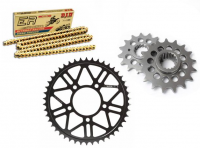 Drive Train - Rear Sprockets - SUPERLITE - SUPERLITE Lightweight Kit 520: Ducati SC/PS/GT [Only with OZ, Marchesini, BST and Rotobox Aftermarket Wheels]