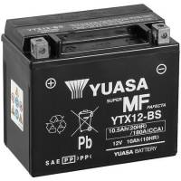 Electrical, Lighting & Gauges - Batteries and Spare Parts - Yuasa  - Yuasa AGM Maintenance Free Batteries YTX12-BS [Sealed, No Fill]