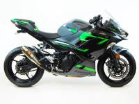 Competition Werkes - Competition Werkes Slip-on Exhaust: 18+ Kawasaki Ninja 400 Slip-on Exhaust