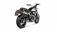Akrapovic - Akrapovic Slip-On Exhaust Ducati Scrambler 1100 2018-2019 - Image 3