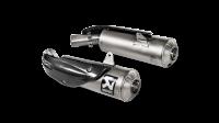 Exhaust - Slip-Ons - Akrapovic - Akrapovic Titanium Slip-On Exhaust Ducati Scrambler 1100