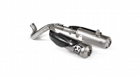 Akrapovic - Akrapovic Exhaust Ducati Scrambler 1100 with Optional Linkage Pipe 2018-2019