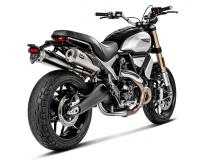 Akrapovic - Akrapovic Exhaust Ducati Scrambler 1100 with Optional Linkage Pipe 2018-2019 - Image 2