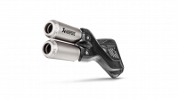 Exhaust - Slip-Ons - Akrapovic - Akrapovic GP Slip-On Exhaust: Multistrada 950, Enduro 1200-1260 '17-'19