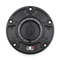 TWM - TWM Quick Action Aluminum Fuel Cap: Aprilla RSV4, Tuono [All Models] - Image 1