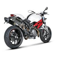 Exhaust - Slip-Ons - Akrapovic - Akrapovic Slip-On Exhaust Ducati Monster 696 / 796 / 1100