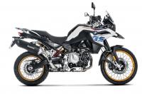 Exhaust - Slip-Ons - Akrapovic - Akrapovic Slip-On Exhaust BMW F750GS / F850GS / Adventure