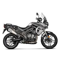 Exhaust - Slip-Ons - Akrapovic - Akrapovic Slip-On Exhaust Triumph Tiger 800 2018/2019