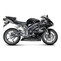 Exhaust - Slip-Ons - Akrapovic - Akrapovic Slip-On Exhaust Triumph Daytona 675 / 675R 2006-2012