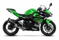 Leo Vince - LeoVince Carbon Fiber Exhaust: Kawasaki Ninja 400 '18-'19