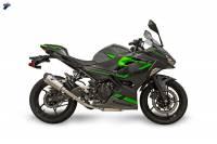 Termignoni - TERMIGNONI Relevance Titanium Exhaust Slip On: Kawasaki Ninja 400 '18-'19