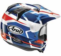Arai - Arai XD4 Depart Helmet [Black/Silver and White/Blue] - Image 2