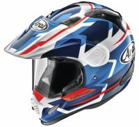 Arai - Arai XD4 Depart Helmet [Black/Silver and White/Blue] - Image 1