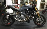Shift-Tech - Shift-Tech Carbon Fiber Exhaust: Ducati Monster 1200/S/R '17-'19