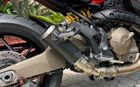 Shift-Tech - Shift-Tech Carbon Fiber/Titanium/Stainless Exhaust: Ducati Monster 821 '14-'19