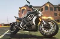 Shift-Tech - Shift-Tech Carbon Fiber Exhaust: Ducati X Diavel/ Diavel 1260
