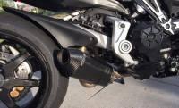 Shift-Tech - Shift-Tech Carbon Fiber Exhaust: Ducati XDiavel, 1260