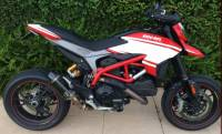 Shift-Tech - Shift-Tech Carbon Fiber Exhaust: Ducati Hypermotard/Hyperstrada 821/939