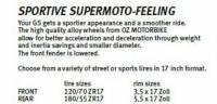 OZ Motorbike - OZ Motorbike Forged Aluminum Wheel Set: BMW R1200GS '14-'18, R1250GS - Image 6