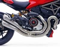 Motocorse - Motocorse Full Titanium Exhaust System: Ducati Monster 1200/S '14-'16