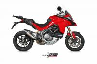 Mivv Exhaust - Mivv Oval Titanium with Carbon Cap Slip-On Exhaust Multistrada 1200-1260 '15-'19 - Image 3